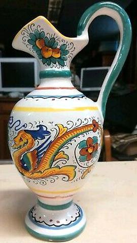 brocca ceramica deruta