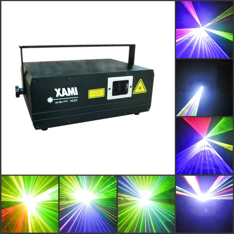 laser show ilda usato