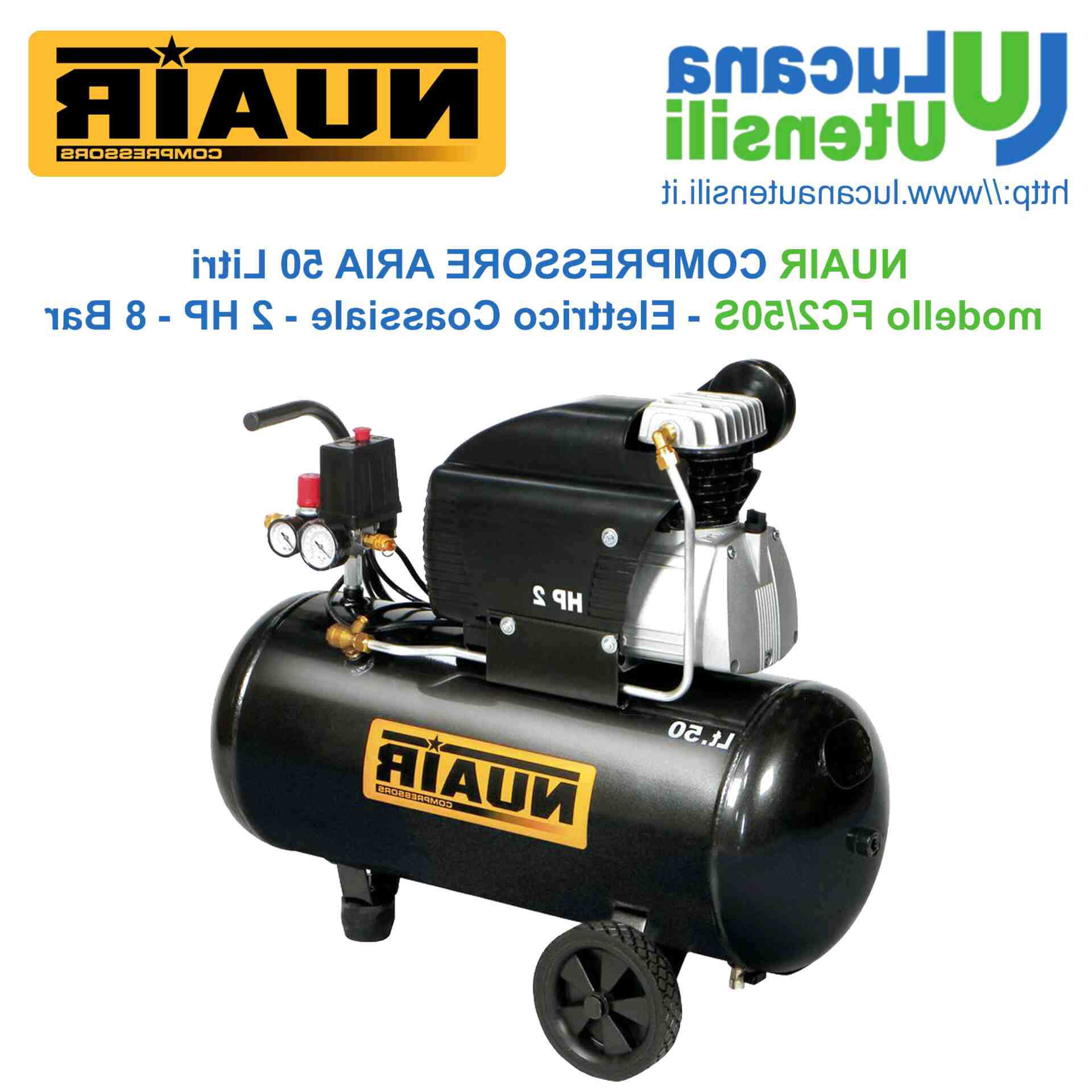 Compressore Aria 50 lt Fini FC2//50S CM2