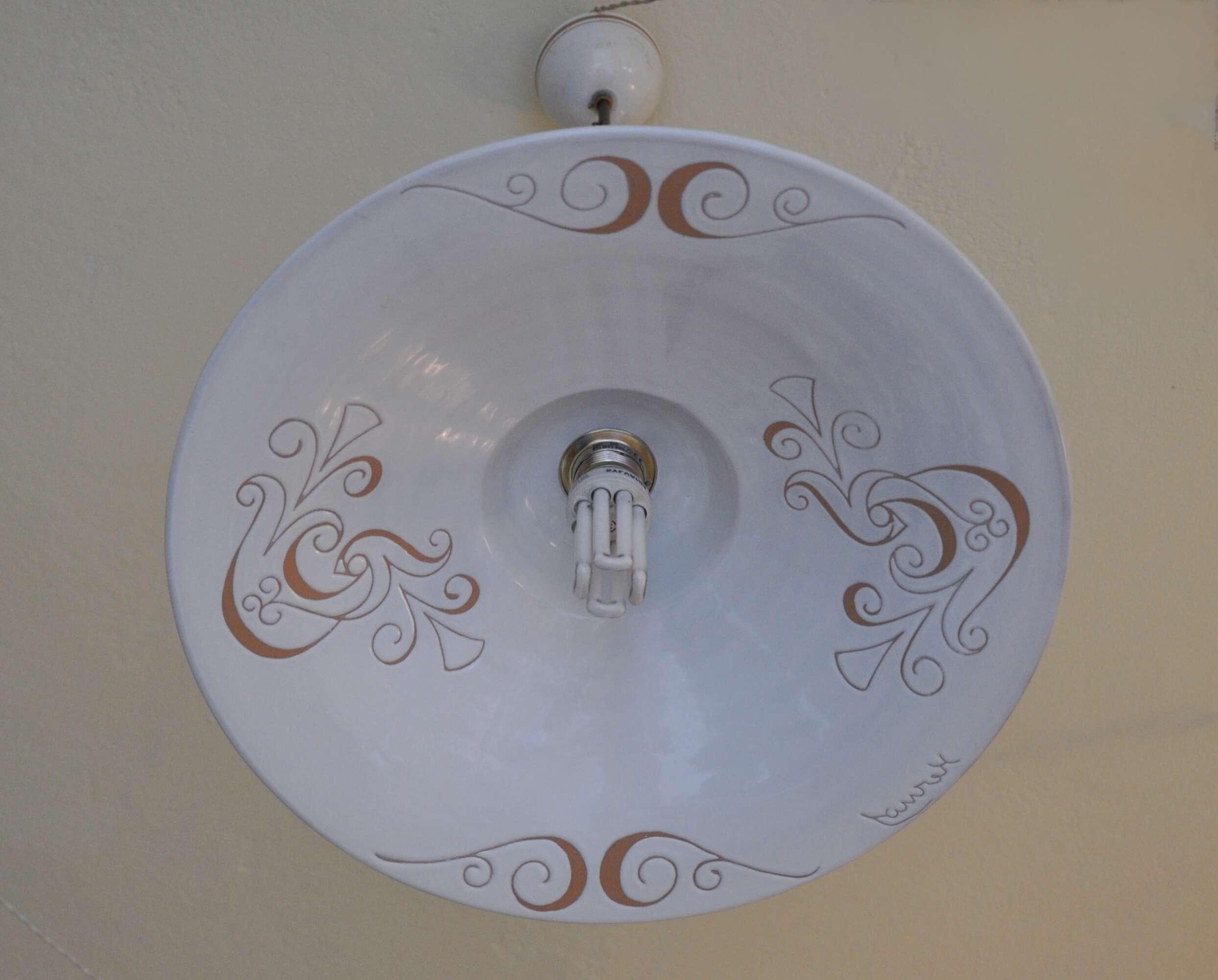 ceramica sarda lampadari usato