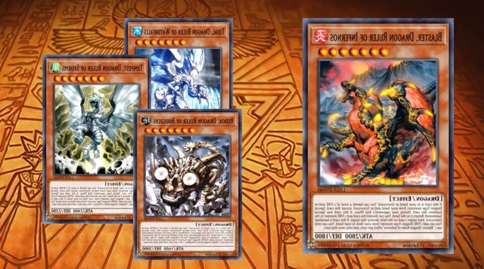 deck dragon ruler usato