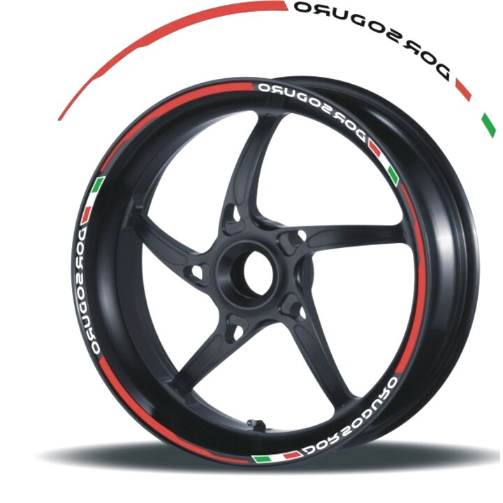 Adesivi ruote moto strisce cerchi APRILIA RS4 50 RS125 wheels stickers Racing 4