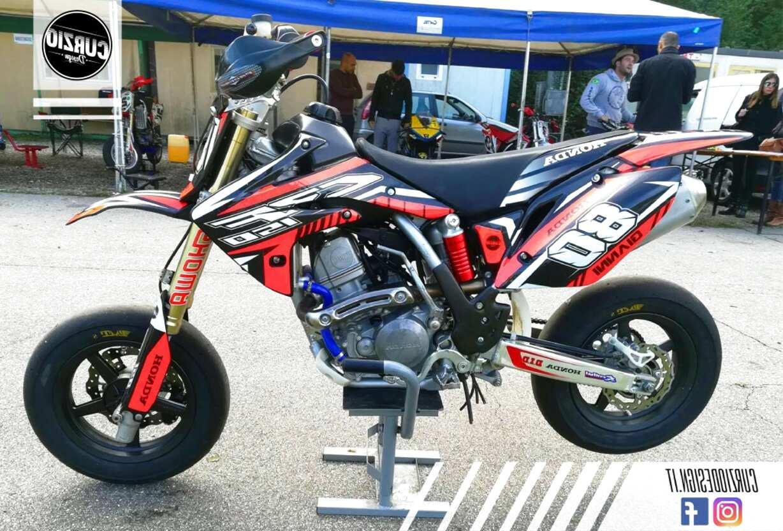 adesivi pit bike usato