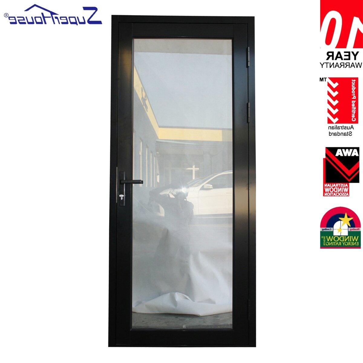 Porte In Alluminio Anodizzato porta esterna alluminio