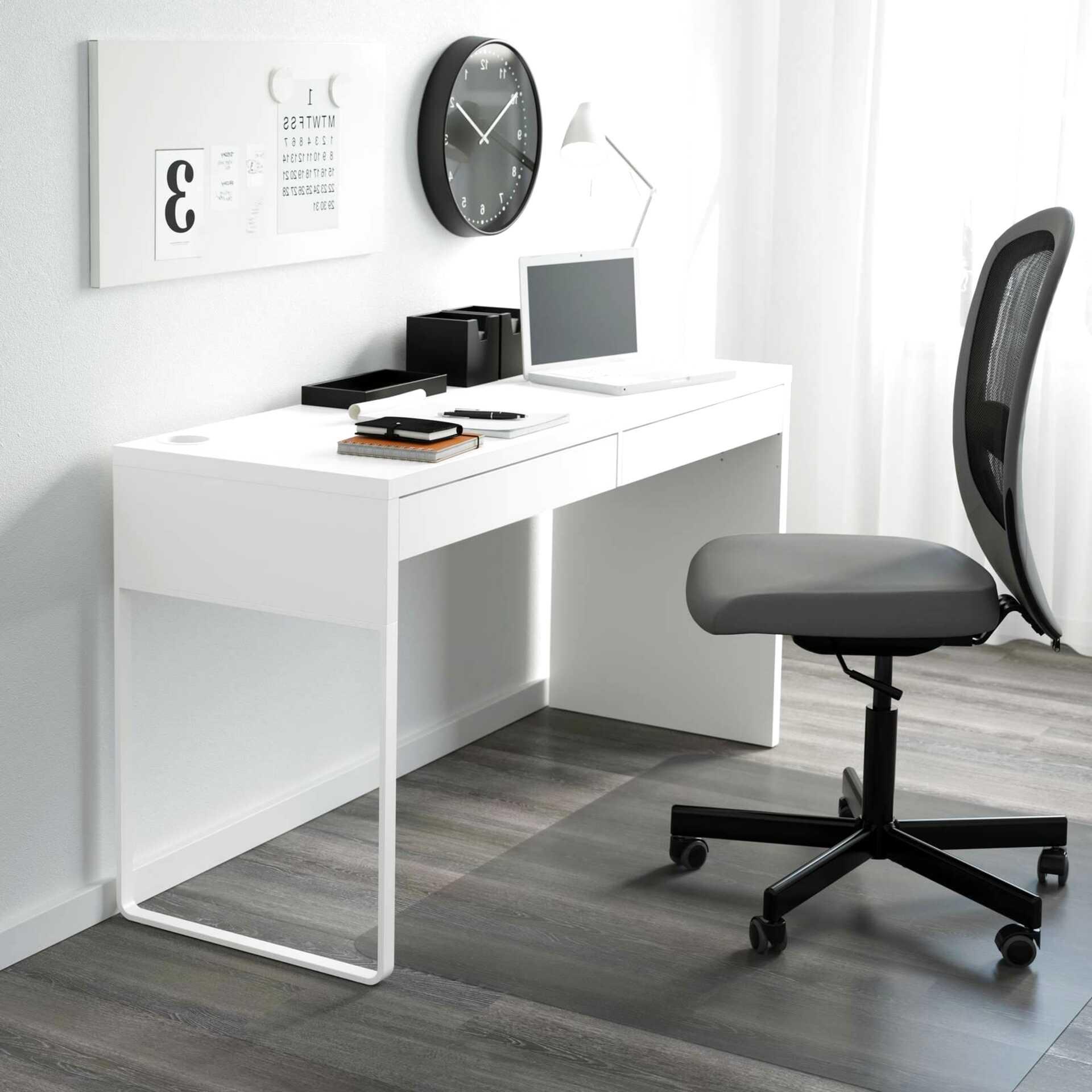 Scrivania Con Cassettiera Ikea ikea micke - scrivania, dimensioni: 73 x 50 cm, co