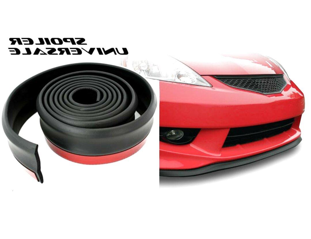 Lechnical Pala Anteriore per Auto 4 Pezzi Kit paraurti Anteriore per Auto Kit Corpo Spoiler Splitter ABS paraurti Canard Splitter per Labbra Universale