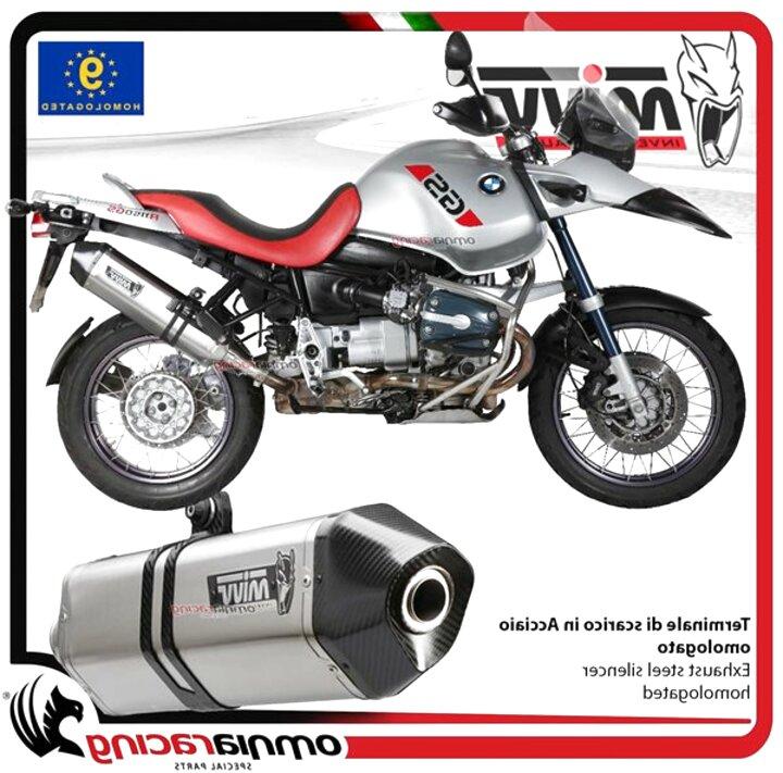 GPR Italia Exhaust Systems Scarico Decatalizzatore per R 1150 GS 1999//03 R 1150 R 2001//06 Collettore Tubo Decatalizzatore