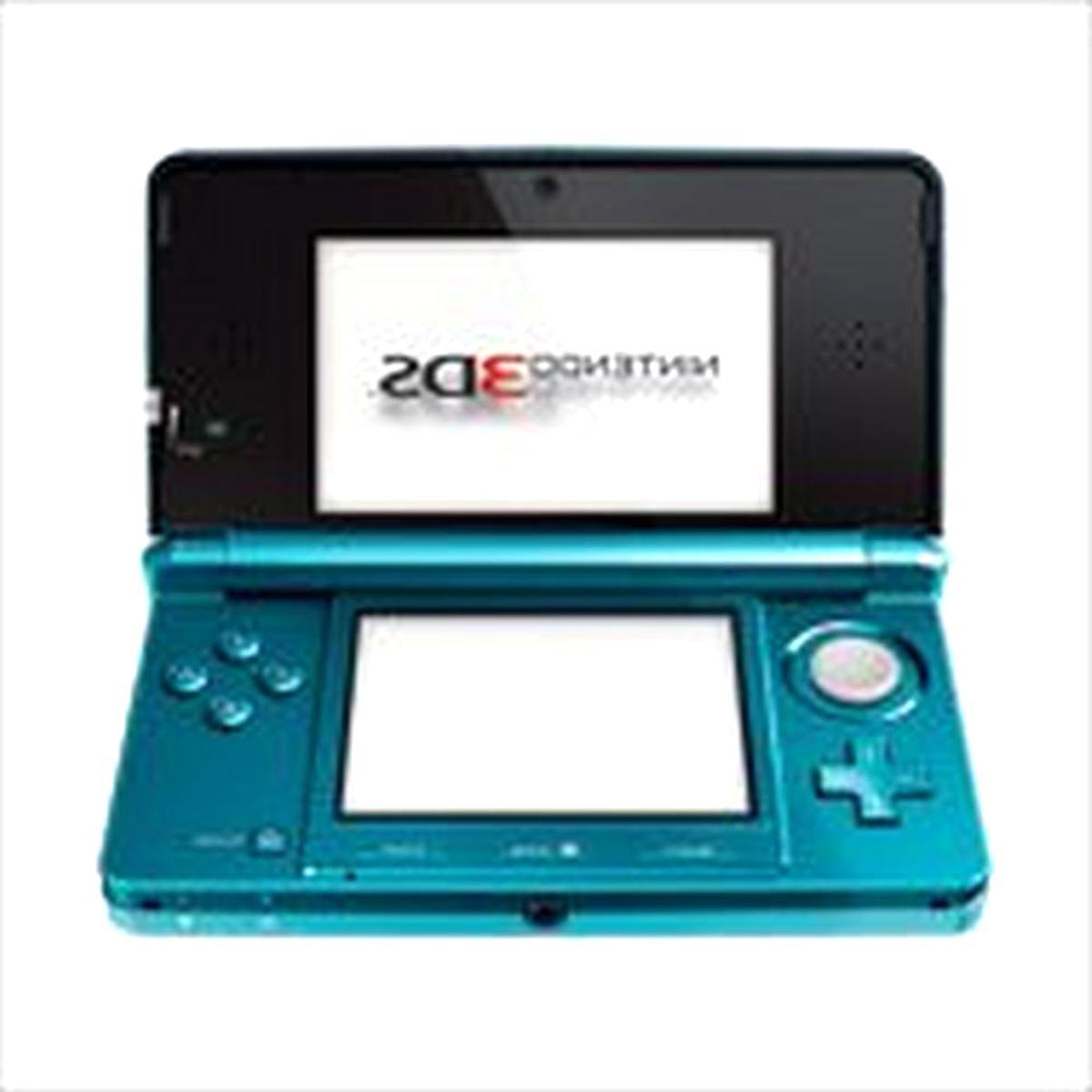 nintendo 3ds aqua blu usato