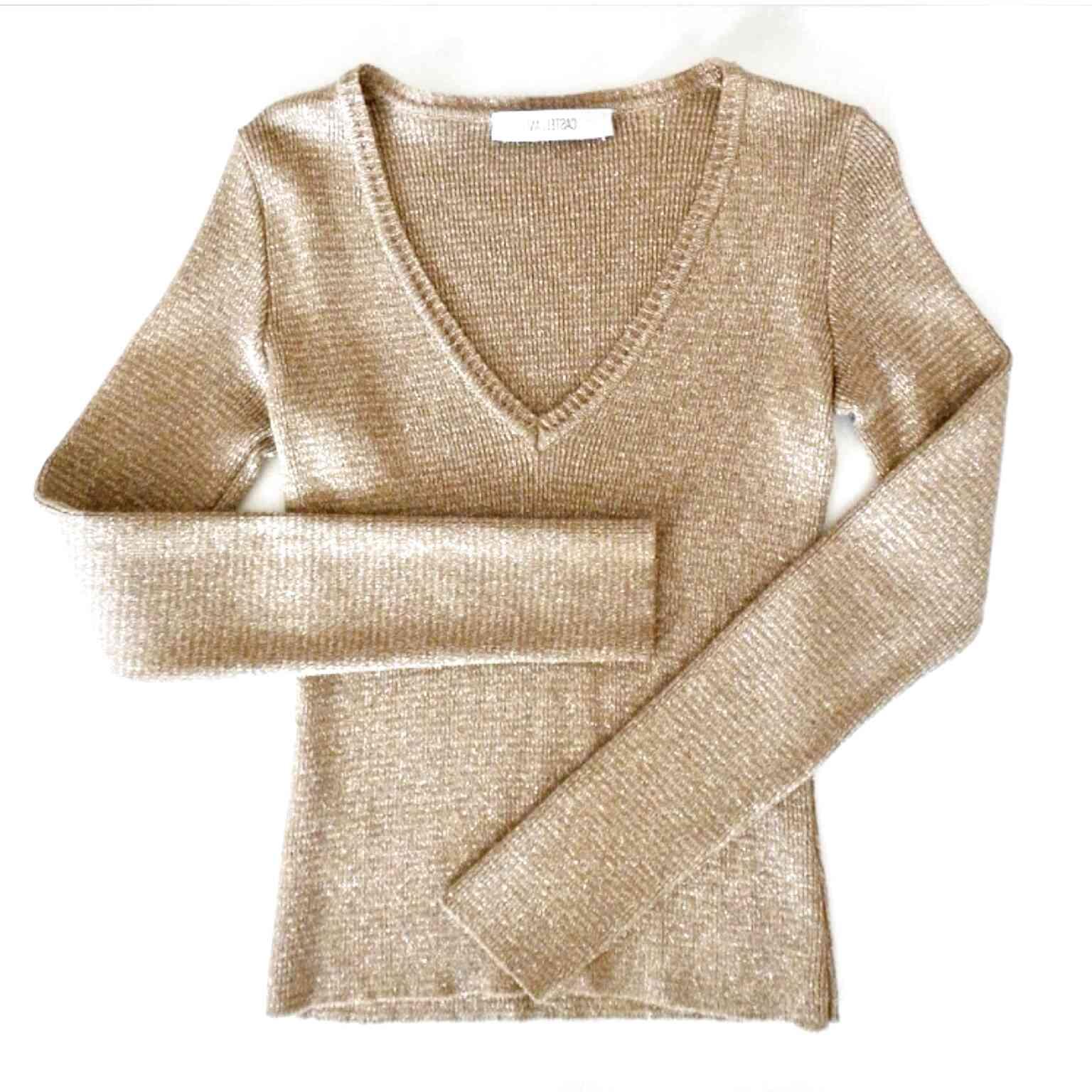 maglia color oro usato