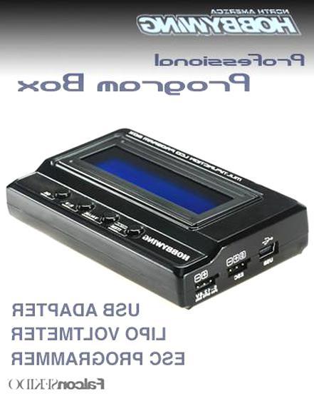 #HW30502000 HOBBYWING MULTIFUNCTION LCD PROGRAM BOX