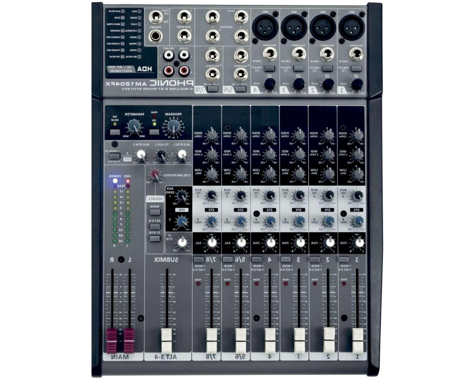 mixer 8 canali effetti usato
