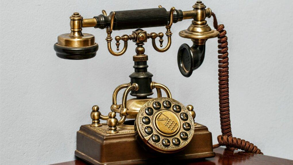 telefoni antichi legno usato