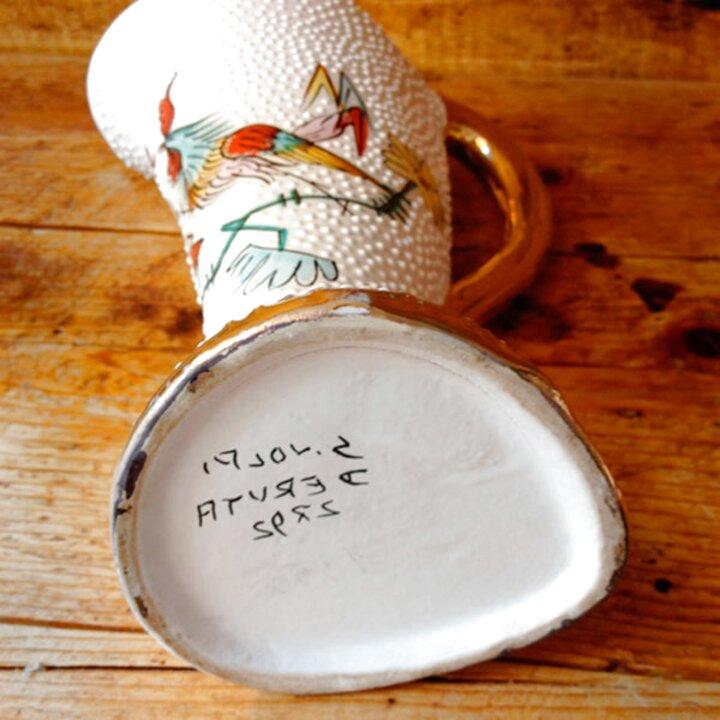 ceramiche deruta volpi