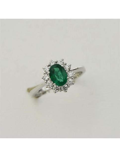 anello smeraldo visconti usato