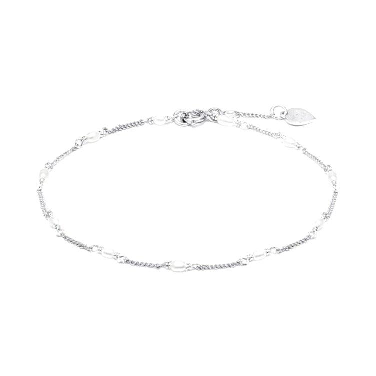 silver bracelets usato