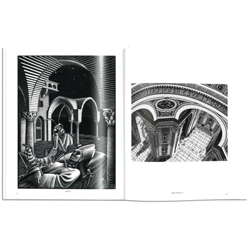 Escher Poster Art 11 cm 50x50 Poster Fine Art su Carta Fotografica Opaca Papi Arte