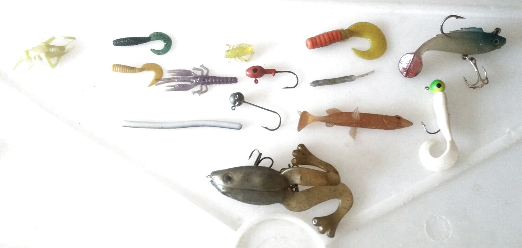 Esca in Silicone Gary Yamamoto Shad Shape Worm 4 Pesca Black Bass FEU