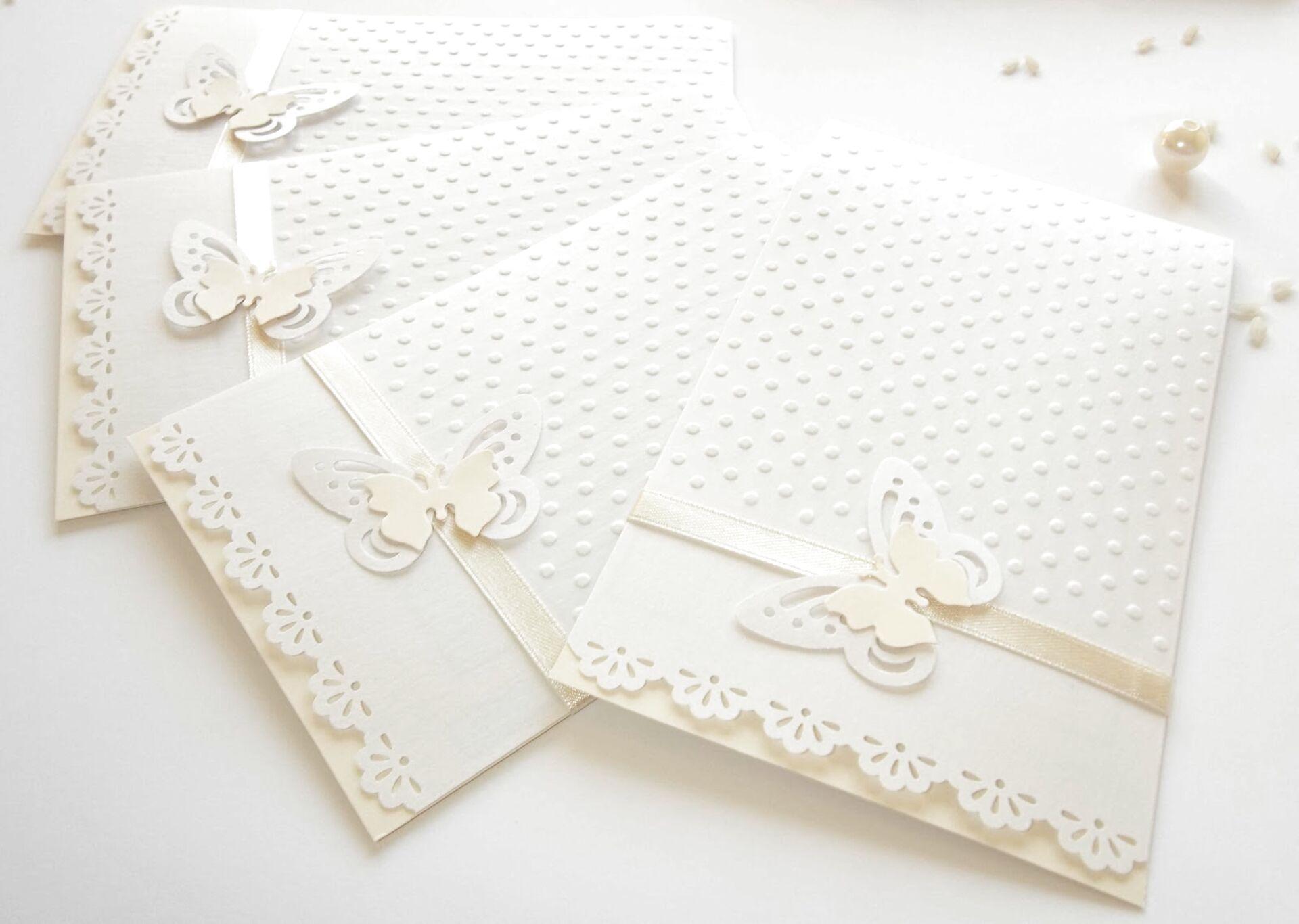 Partecipazioni Matrimonio Farfalle.Partecipazioni Matrimonio Farfalle Usato In Italia Vedi Tutte I