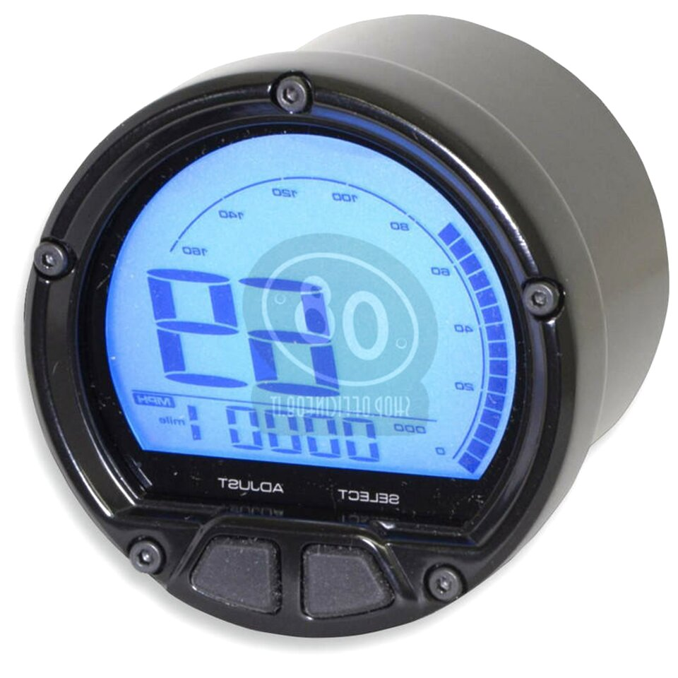 display digitale LCD multifunzione con contagiri contagiri contachilometri contachilometri Akozon Contachilometri per moto
