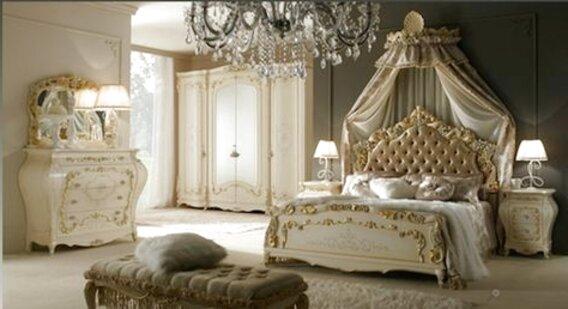 stile veneziano camera letto