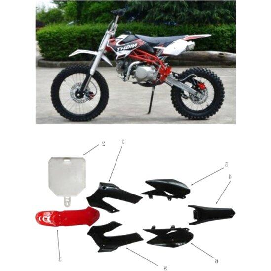 Carena Modello CRF 50 Pit Bike 110cc Plastiche