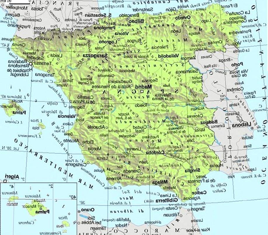 Cartina Amministrativa Spagna.Lattuale Ansia Nel Italia Centrale Cartina Geografica Amazon Settimanaciclisticalombarda It