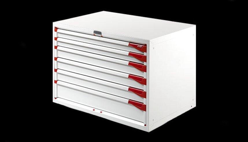 cassettiera metallo attrezzi usato