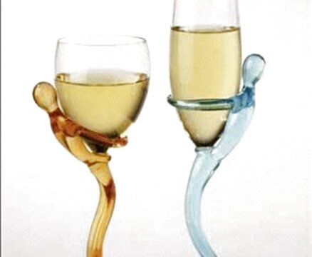 bicchieri particolari usato