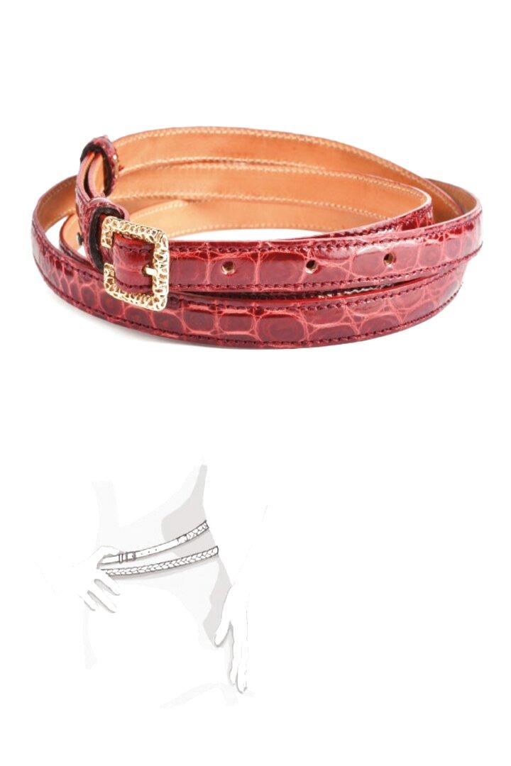 Cintura  Scamosciata 3,5 CM fodera pelle e fibbia anallergica 4 Varianti