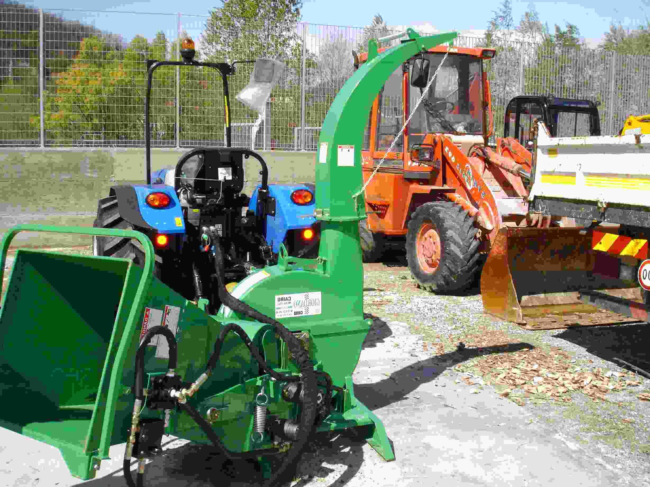 biotrituratore cippatore trattore usato