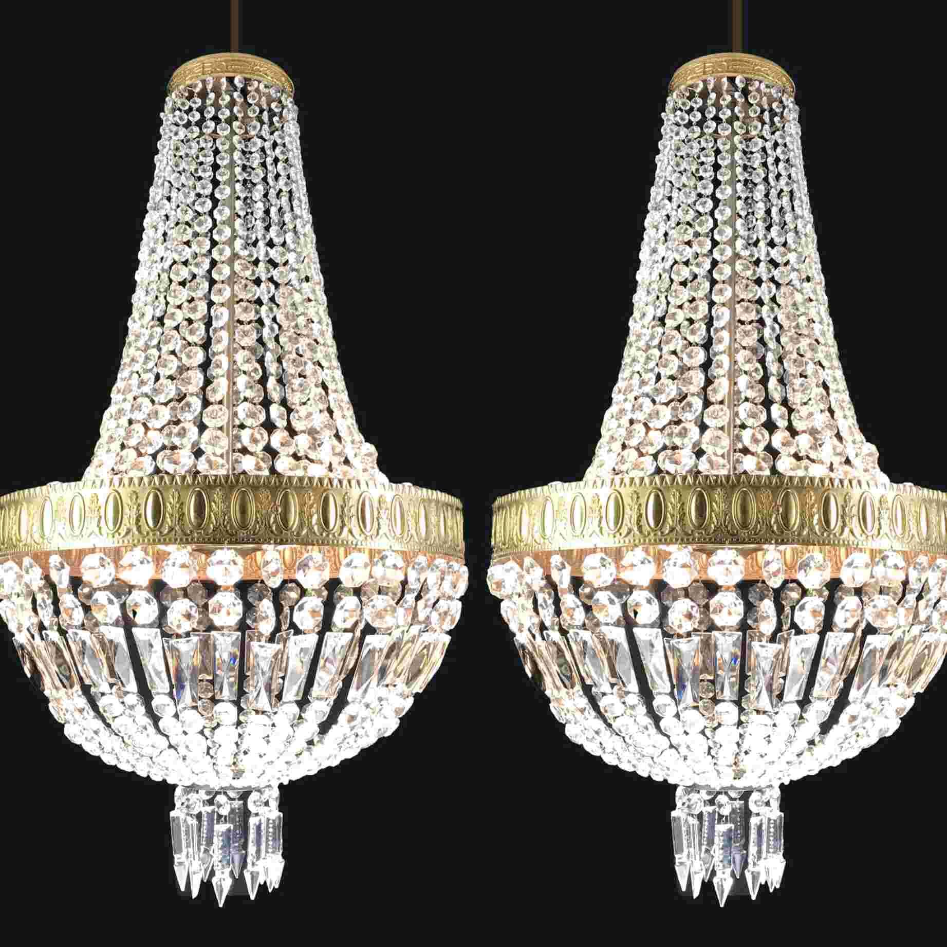 Lampadario Gocce Cristallo Usato.Coppia Lampadari Cristallo Usato In Italia Vedi Tutte I 44 Prezzi