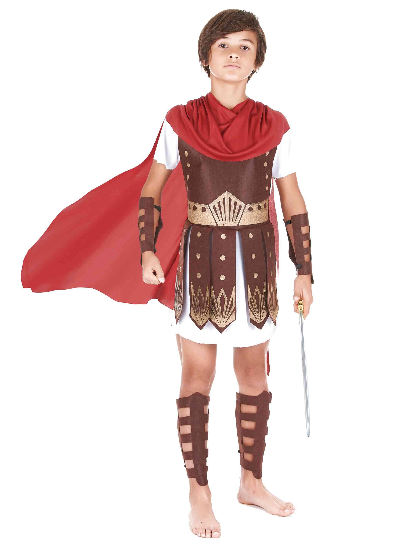 Per Bambino GRECO GUERRIERO Romano Costume Taglia XL 13-14 anni Gladiatore