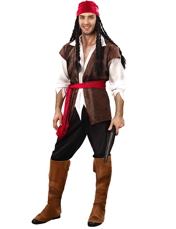 Adulti Steampunk Pirata Uomo Costume Di Halloween Pirata Costume Outfit 89009