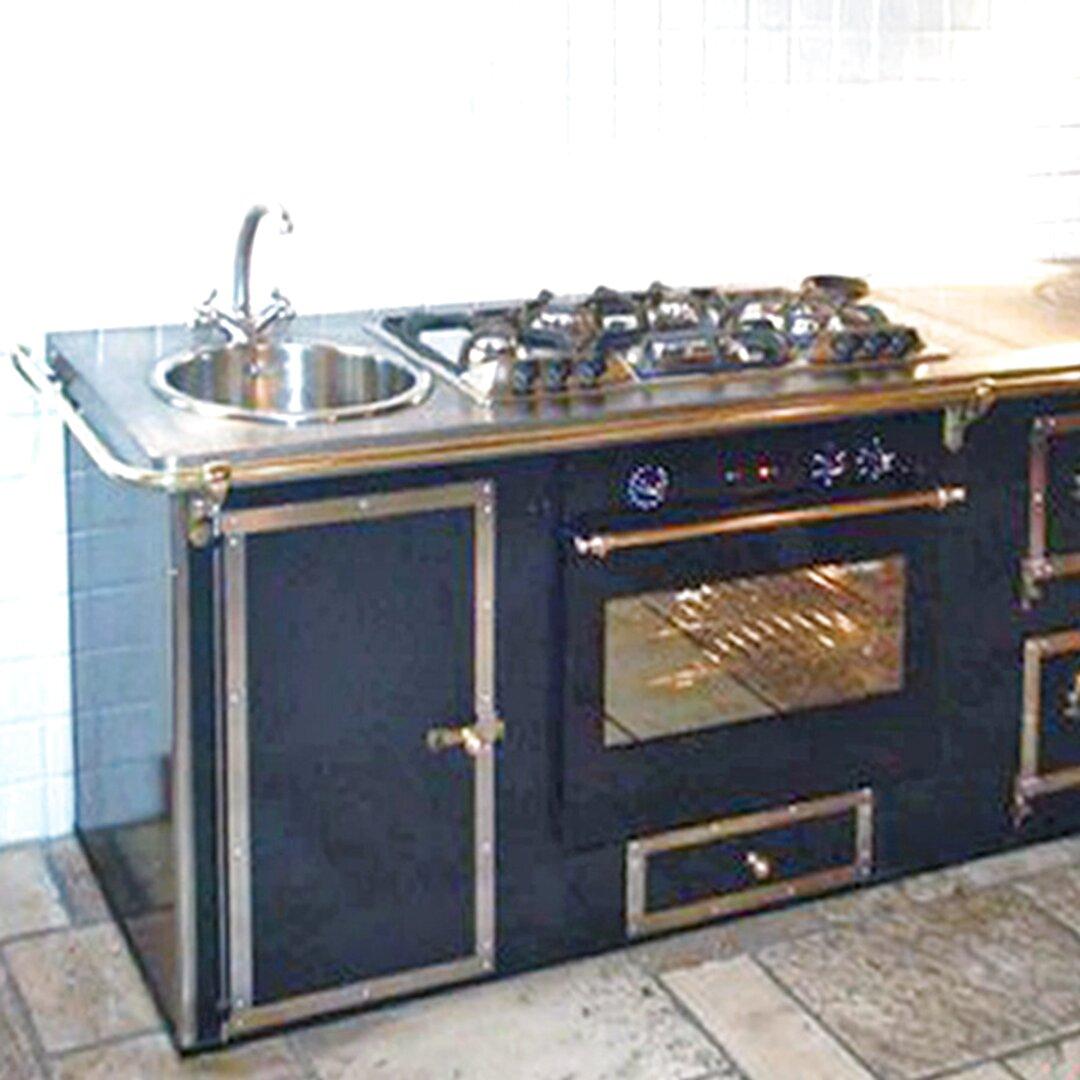 Cucine Low Cost Brescia cucina a legna usata toscana