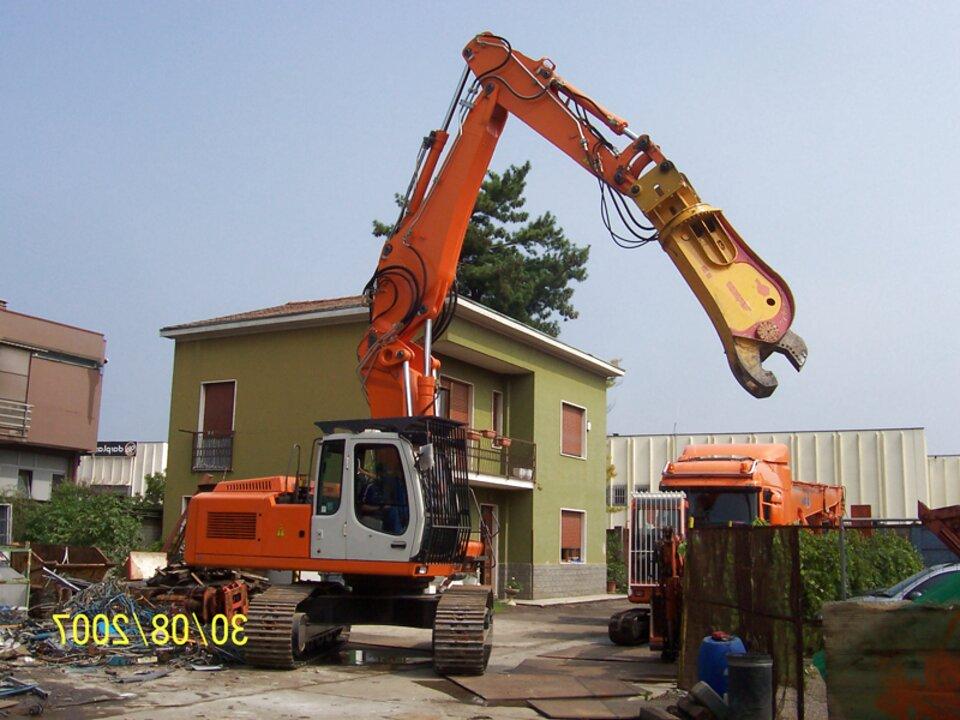 braccio escavatore usato