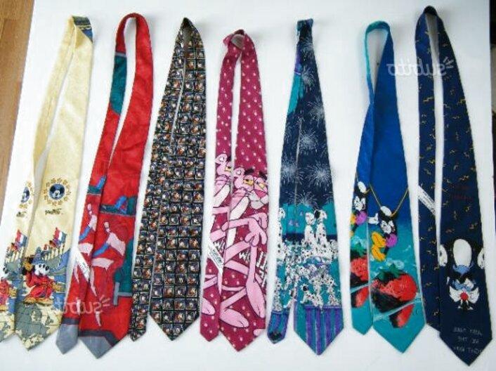 cravatte disney uomo usato
