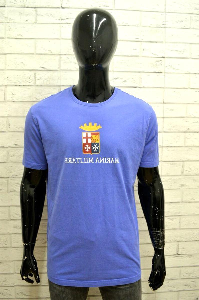 Epic Militaria maglietta a maniche lunghe con righe blu