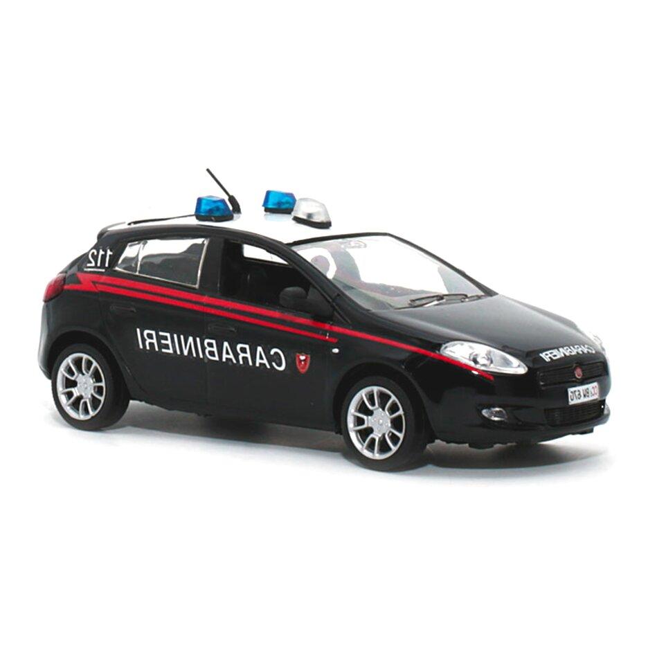 Die cast 1//43 Modellino Auto Carabinieri Fiat Brava 2001