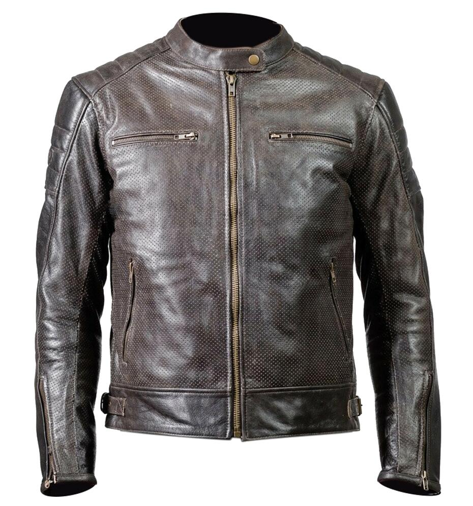 giacca pelle usato