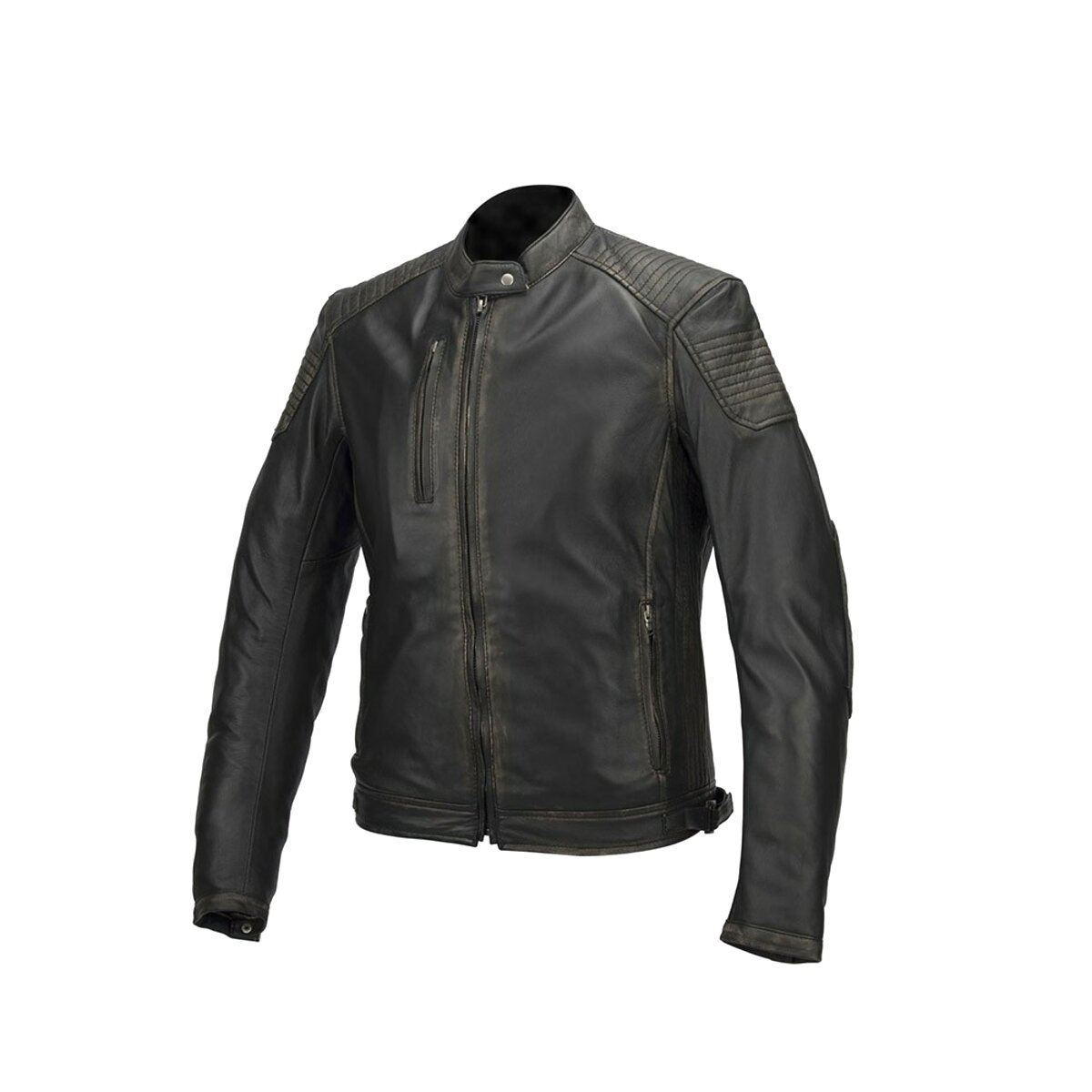 giubbino pelle giacca moto usato
