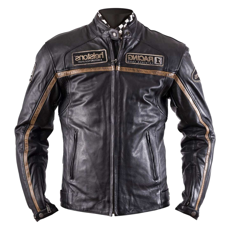 giacca moto pelle daytona usato