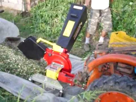 biotrituratore motocoltivatore usato