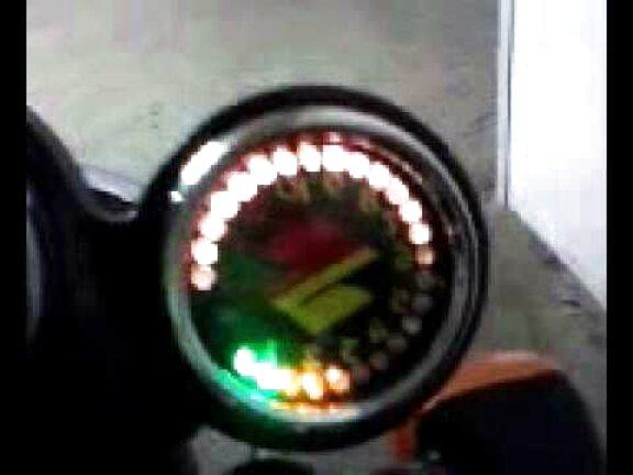 Akozon Contachilometri contachilometri LED Accessori modificati per moto Contachilometri Contagiri