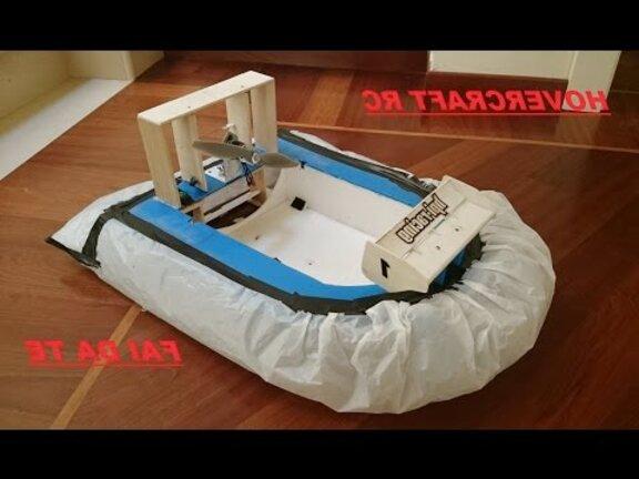 hovercraft radiocomandato usato
