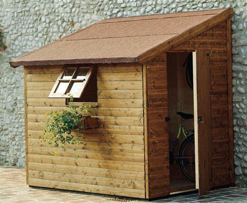 casetta legno porta attrezzi