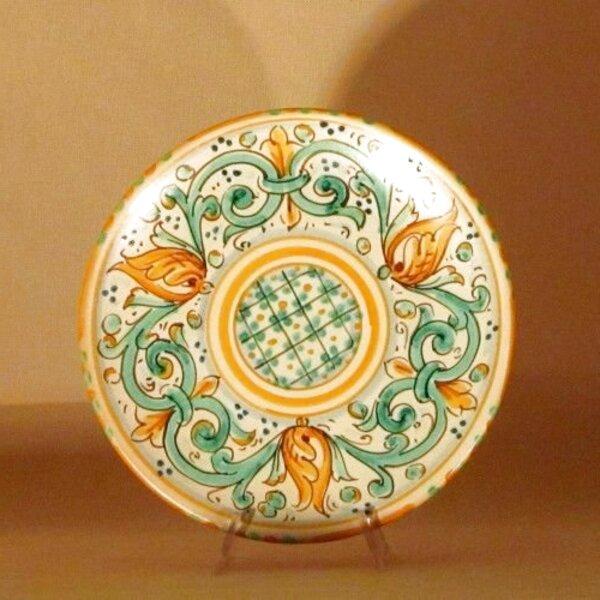piatti ceramica caltagirone usato