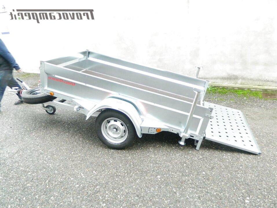 carrello rimorchio auto usato