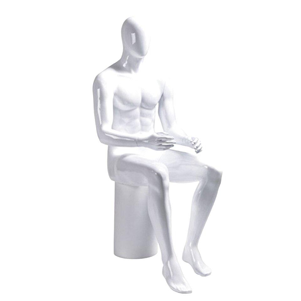 Manichino di uomo in posizione seduta Euroton MSH-3