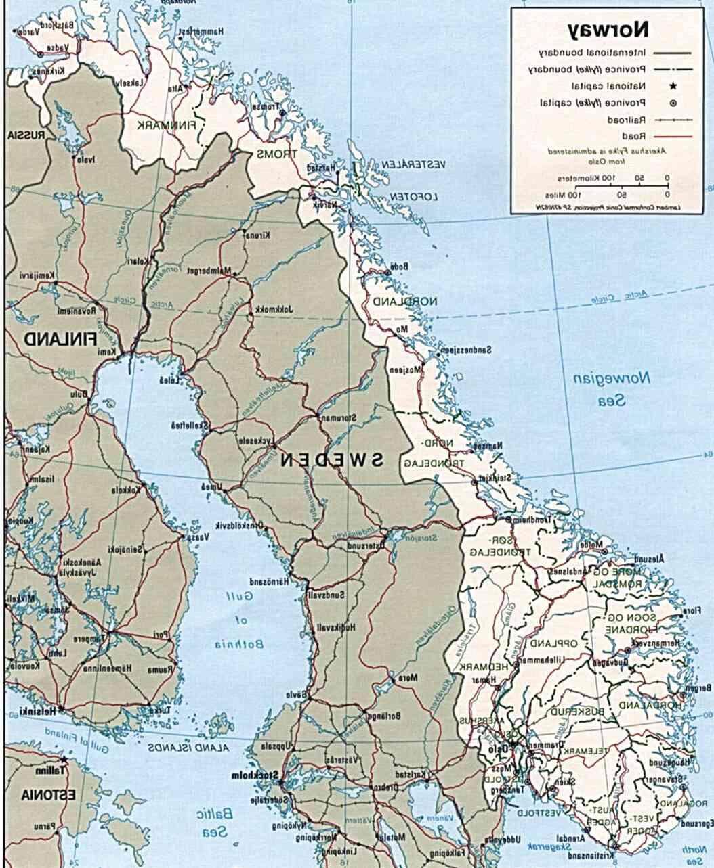 Norvegia Cartina Stradale.Norvegia Mappa Usato In Italia Vedi Tutte I 40 Prezzi