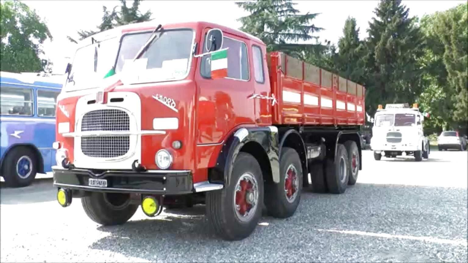 camion d epoca foto usato